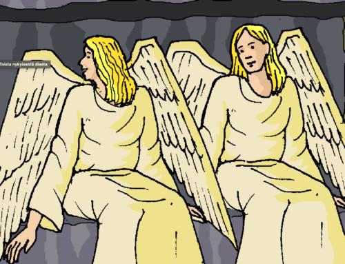 Pääsiäisen tapahtumia – ensimmäinen pääsiäispäivä