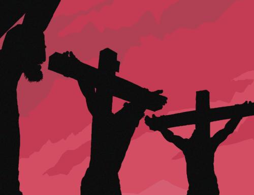 Pääsiäisen tapahtumia – pitkäperjantai