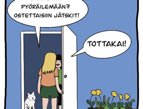 Uusi sarjakuva kertoo lupausten pitämisestä